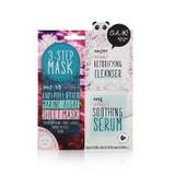 3-Step Anti Pollution Marine Algae Face Sheet Mask 21ml en ansiktsmask från Oh K!
