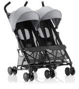 Holiday Double Stroller Steel Grey