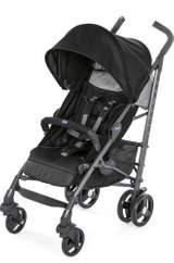 Liteway 3 Paraplysulky (Jet Black) en barnvagn från Chicco
