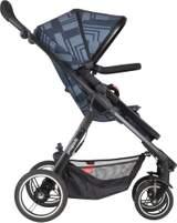 Mod sitt och liggvagn (Noir) en barnvagn från Phil And Teds
