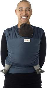 Tricot-Slen Bärsjal (Blue Jeans)