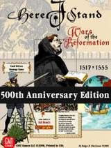 Here I Stand (500th Anniversary Reprint Edition) - Brädspel