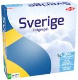 Sverige Frågespel ny version en brädspel från Tactic
