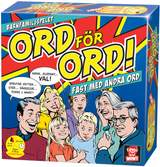 Barnfamiljspelet, Ord för ord