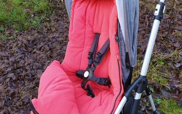 Bugaboo High Performance - Test - Passform i sittdel
