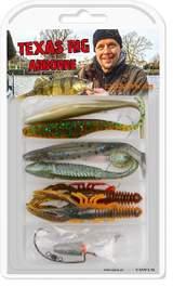 Texas Rig Set en fiskepryl från Darts Fishing