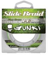 Gunki Slide Braid Hyper PE Fluo Green