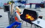 Jessica Ortman betygsätter bästa grillen till båten