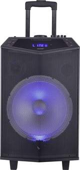 "Mobil PA-högtalare 30.5 cm 12 "" TSP-404L 40 W 1 st"