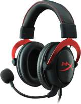 HyperX Cloud II Headset - Red - Svart