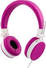 Streetz headset för iPhone, mikrofon, noisecancelling,1,5m, rosa