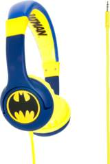 Batman Hörlur Junior On-Ear Blå/Gul Batlogo