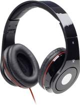 MHS-DTW-BK - hörlurar med mikrofon - Svart