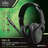 AX1-R Gaming Headset