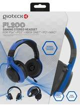 FL-200 Wired Stereo Headset - Black