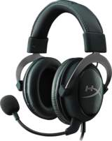 HyperX Cloud II Headset - Gun Metal - Svart