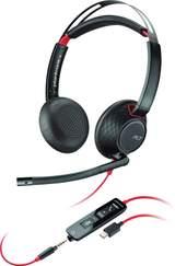 5220 Blackwire Usb C Stereo Svart