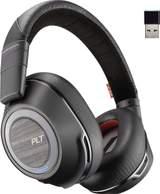 Telefon-Headset Plantronics 8200 UC Bluetooth Sladdlöst Over Ear Svart