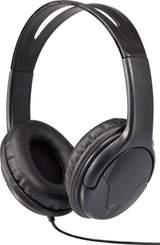 Hörlurar On-ear Renkforce HP-960S Sladd Svart