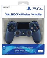 DualShock 4 Midnight Blue v2