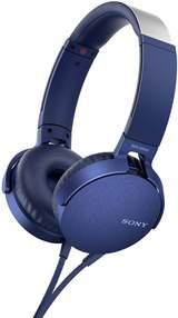 MDR-XB550AP Headphones Blue