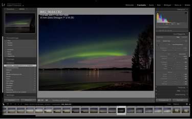 Efterbehandla dina norrskensbilder - Fota norrsken - 4 konkreta tips för fantastiska bilder