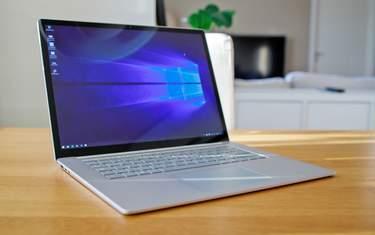 Microsoft Surface Laptop 3 - Test - Nytänkande insida