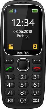 Senior-mobiltelefon beafon SL360 Svart