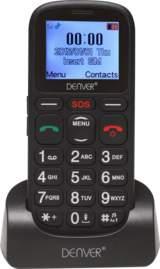GSP-120 GSM-telefon med stora knappar