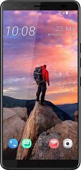U12+ - translucent blue - 4G HSPA+ - 64 GB - GSM - smartphone