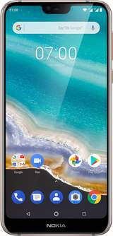"4G Smartphone 5.84 "" 7.1 Steel 32 GB Silver"