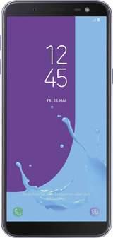 """4G Smartphone 5.6 """" GALAXY J6 32 GB Violett"""