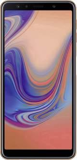 """4G Smartphone 6 """" GALAXY A7 64 GB Guld"""