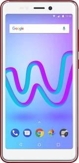 """Jerry 3 4G Smartphone Dual-SIM 16 GB 13.8 cm(5.45 """") 5 MegapixelAndroid 8.0 OreoKörsbärsröd"""