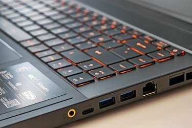 MSI GS66 Stealth - Test - Upplyst och välfungerande tangentbord