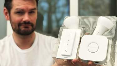 Philips Hue Startpaket - Test - helt enkelt bäst och passar alla