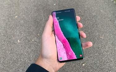 Samsung Galaxy S10 - Test - Skärm