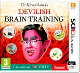 Dr Kawashima's Devilish Brain Training: Can you stay FOCUSED? - Nintendo 3DS - puzzle