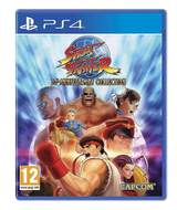 Street Fighter Anniversary Collection en spel från Ps4