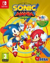 Sonic Mania Plus en spel från Switch