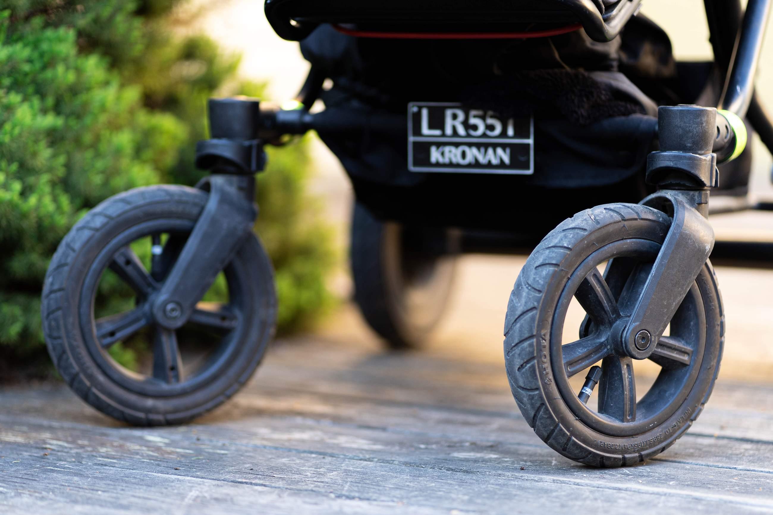 Lufthjul, swivelhjul, EVA-hjul - vad är skillnaden?