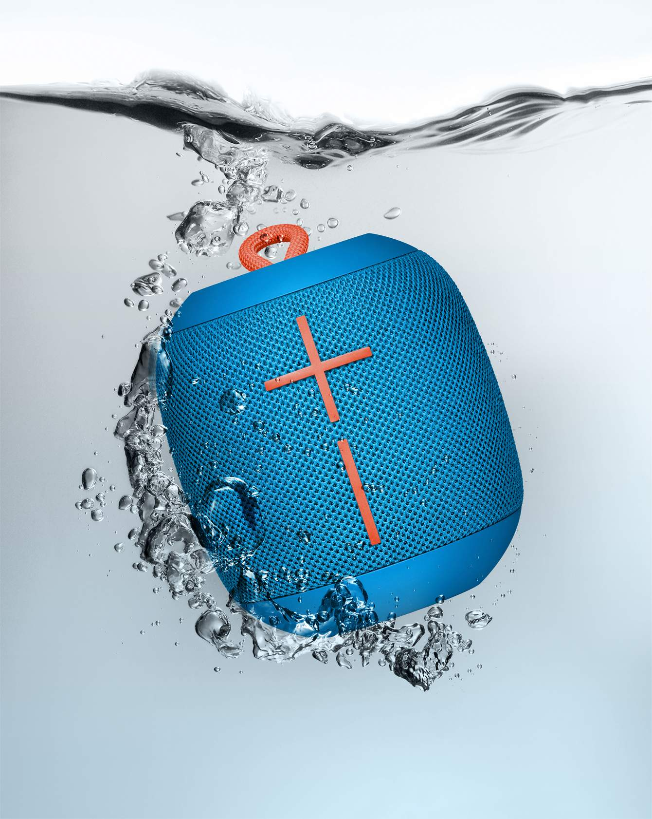 Ultimate Ears Wonderboom-SubZero Blue - Hitta högtalare hos Advized 79842998f2ebe