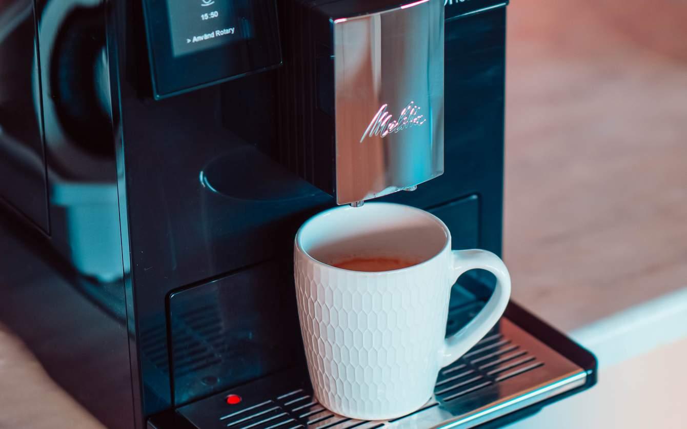 test kaffebryggare med inbyggd kvarn