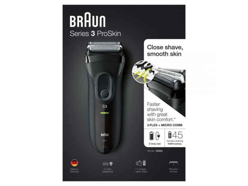 Braun Rakapparat 3020s - Se köpråd för rakapparater hos Advized b86a61238c3c0